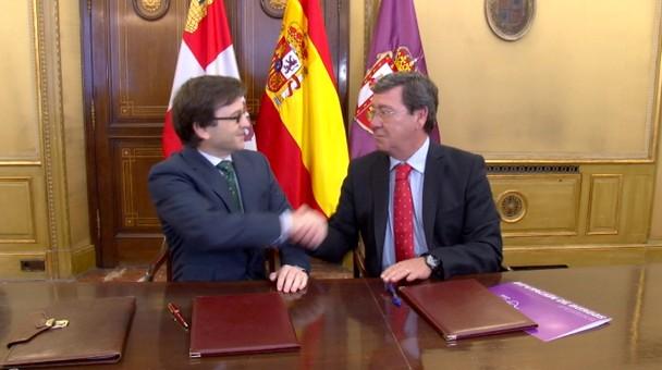La Diputación Provincial y el Colegio Oficial de Farmacéuticos firman convenio de colaboración
