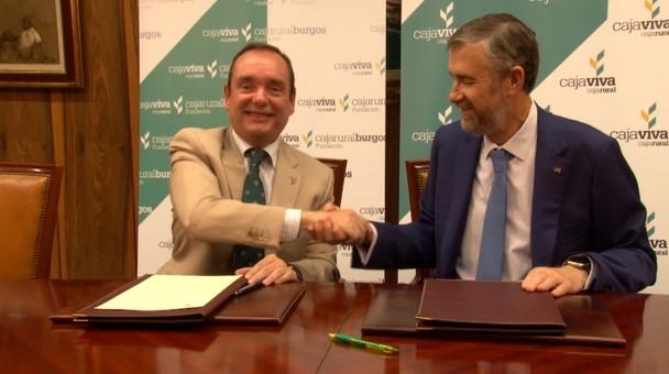 Cajaviva Caja Rural y la UBU firman convenio para promover los estudios del Grado de Ingeniería Alimentaria