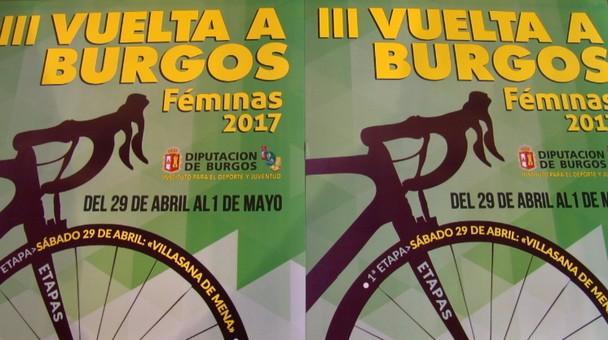 Villasana de Mena-Medina de Pomar y Villarcayo acogerán la III Vuelta a Burgos Féminas 2017
