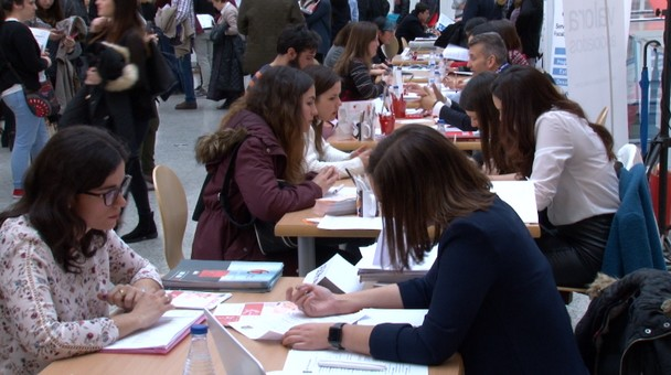 El Fórum Evolución acoge la XVI edición del Foro de Empleo de la Universidad de Burgos