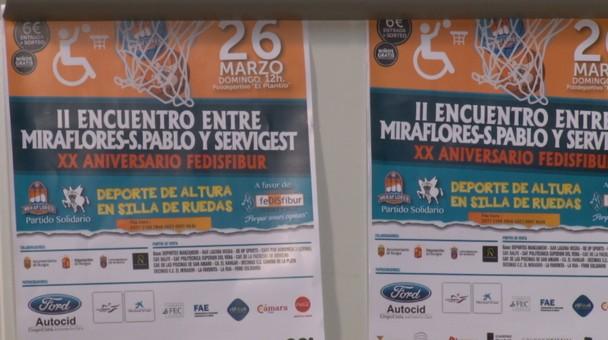 El club Miraflores y el Servigest juegan el domingo en el Plantío un partido de baloncesto solidario
