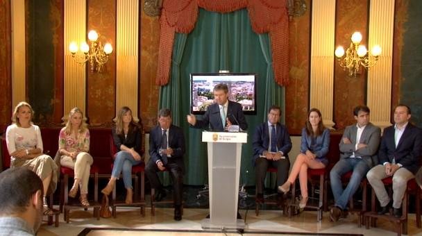 Alcalde Lacalle valora positivamente estos dos años de mandato debido a la gestión y el consenso