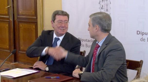 La Fundación Caja de Burgos y la Diputación Provincial desarrollarán en el curso 2017/18 nuevos programas formativos para desempleados
