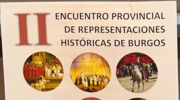 Se presenta en la Diputación el II Encuentro Provincial de Representaciones Históricas de Burgos