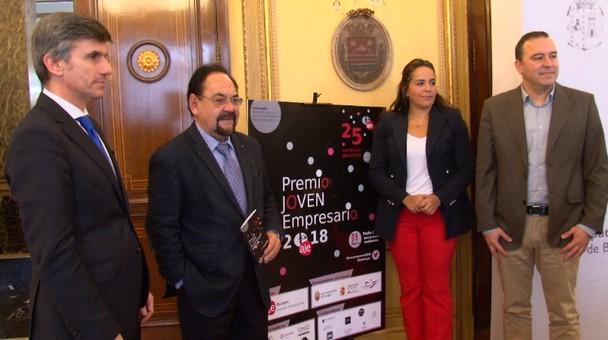 Se presenta una nueva edición del Premio Joven empresario Burgos 2018