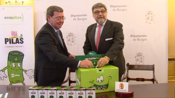 El IDJ de la Diputación provincial y Ecopilas firman convenio de colaboración
