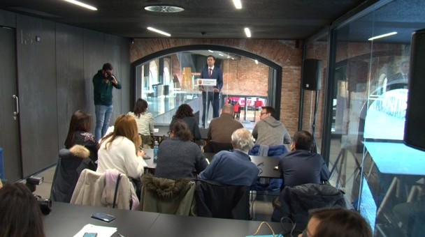 El alcalde de Burgos Daniel de la Rosa hace un balance de los primeros seis meses de su mandato
