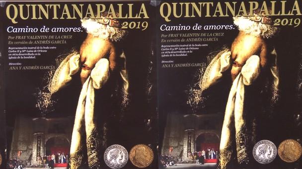 Quintanapalla acoge esta sábado 15 la representación teatral de la boda de Carlos II y María Luisa de Orleans