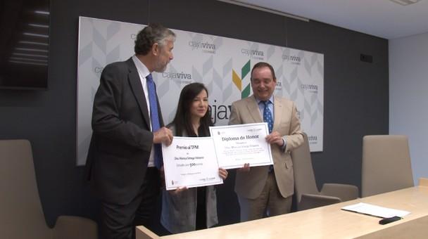 La Fundación Caja Rural y la Universidad de Burgos entregan el premio a la mejor investigación
