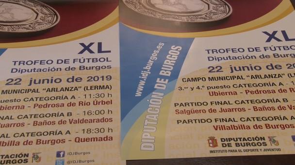 Este fin de semana en Lerma las finales del XL Trofeo de Fútbol Diputación Burgos
