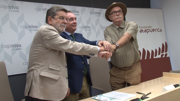 Fundación Caja Rural y la Fundación Atapuerca firman el undécimo convenio de colaboración
