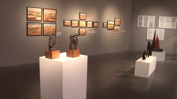 La sala de exposiciones Pedro Torrecilla acoge la muestra del artista burgalés Néstor Pavón