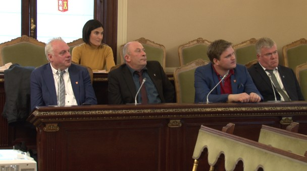 La Diputación de Burgos se presenta como un referente en el medio rural a una delegación de Empresarios Noruegos