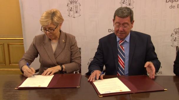 Diputación de Burgos y la Asociación Párkinson renuevan convenio de colaboración