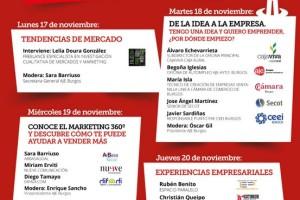 AJE explica las últimas tendencias empresariales y el marketing 360º en la Semana del Emprendedor