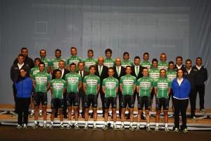 El equipo ciclista Caja Rural-Seguros RGA será liderado por el burgalés Carlos Barbero