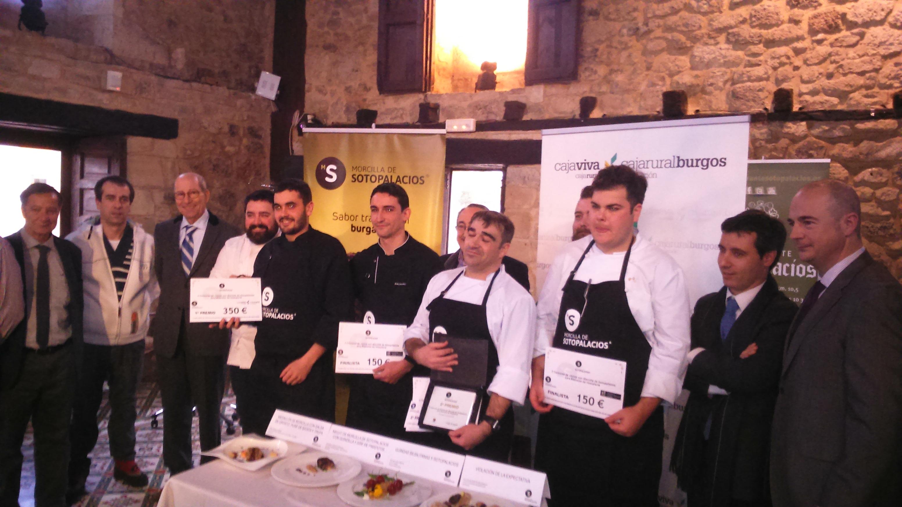 II concurso cocina con morcilla de Sotopalacios