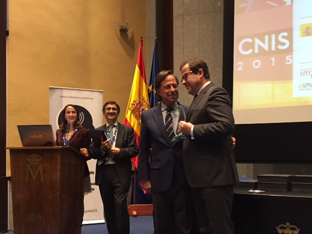 Salvador de Foronda recoge el premio