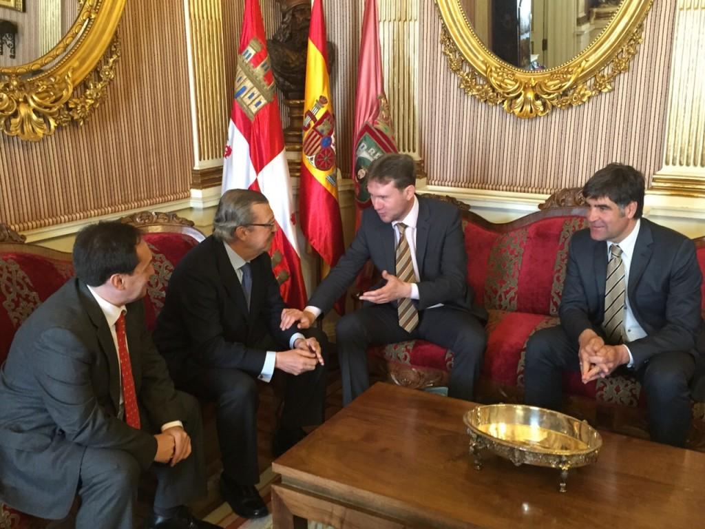 Visita OPC Alcalde Burgos
