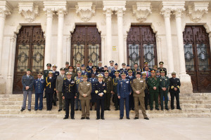 32 agregados militares de 28 países se reunieron en Burgos