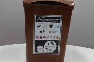 El Ayuntamiento reparte un cubo de 10 litros para la recogida de Fracción Orgánica