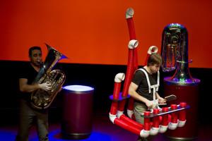 Más de 1.500 escolares asisten al espectáculo Tubos y Tubas