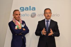 El arquitecto Joaquín Torres presenta el baño conmemorativo del 50 aniversario de Cerámicas Gala