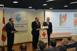 El Presidente Provincial de Cruz Roja en Burgos, Arturo Almasa, renueva el cargo por cuatro años