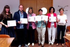 La UBU premia a los ganadores del IV Concurso Intergeneracional de Relatos Cortos