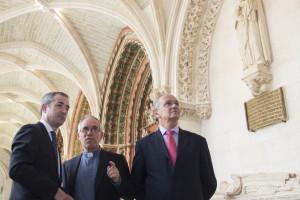 """El Arzobispado, la Obra Social """"la Caixa"""" y la Fundación Caja de Burgos inauguran el Claustro alto de la Catedral"""