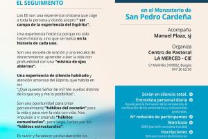 La congregación de Jesuitas prepara unos ejercicios espirituales para agosto