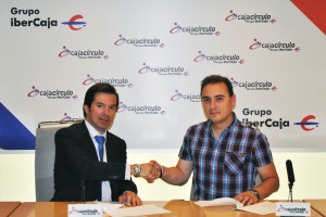 Ibercaja renueva su convenio con el C.D Burgos Bupolsa