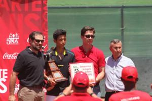Nicolás Álvarez, campeón de España infantil de Tenis