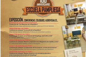 Exposiciones y charlas para celebrar los 100 años de la Escuela de Pampliega