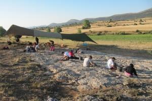 XIII Campaña de Excavaciones Paleontológicas en la Sierra de la Demanda (Burgos)