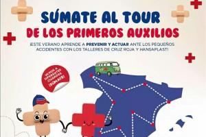 Cruz Roja pone en marcha el Tour de los Primeros Auxilios