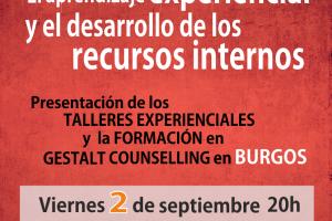 """Llega la conferencia """"El aprendizaje experiencial y el desarrollo de los recursos internos"""""""