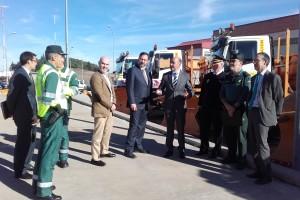 Cerca de 100 quitanieves mantendrán la vialidad invernal en las carreteras del estado de la provincia de Burgos