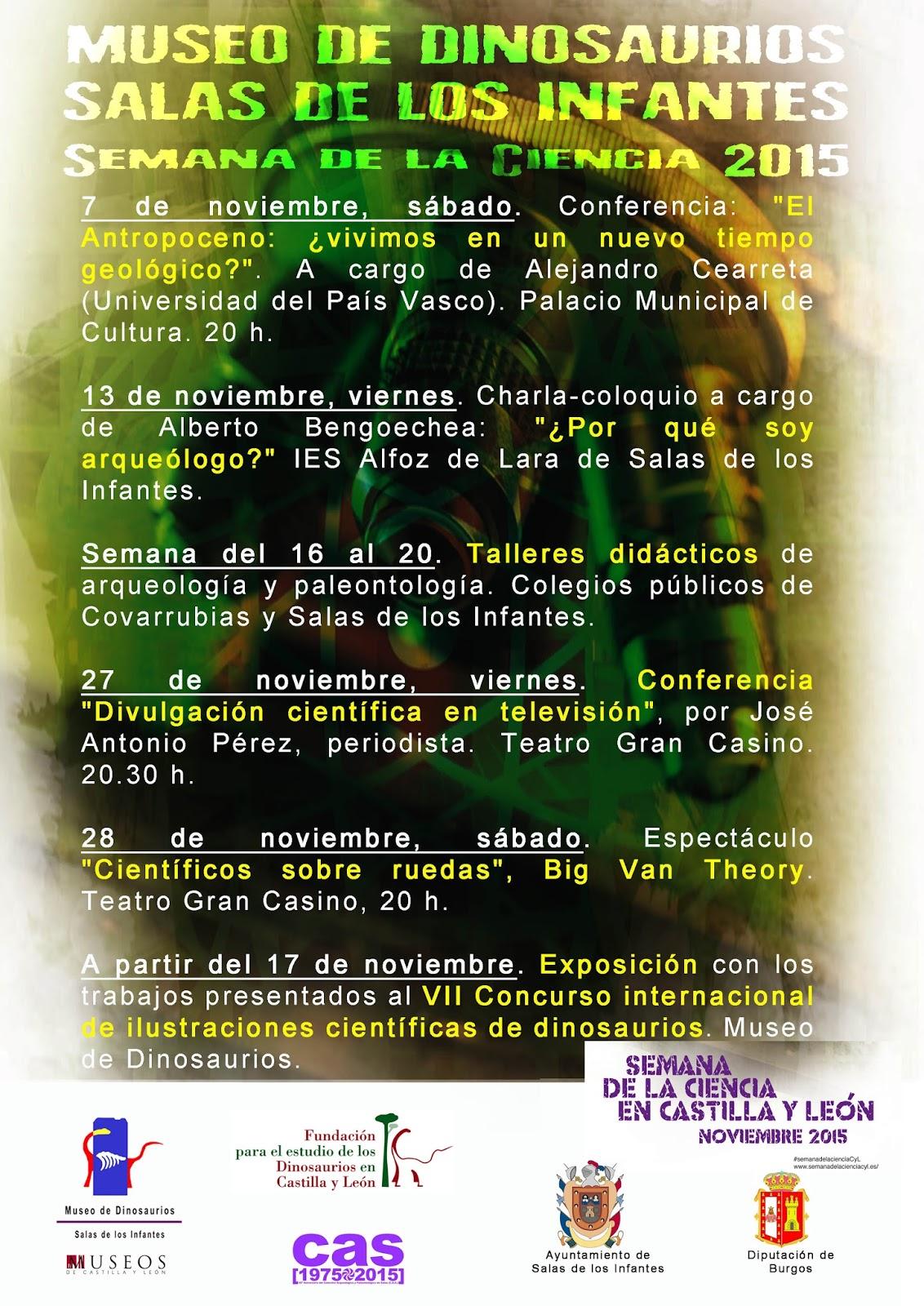 Cartel SemanaCiencia2015