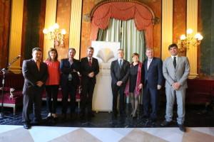 La Asociación de Municipios del Camino de Santiago se ha presentado hoy en Burgos.