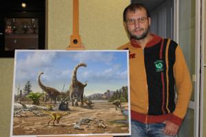 Ganador del VII Concurso Internacional de Ilustraciones Científicas de Dinosaurios