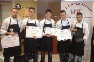 Javier Carcas ganador del 7º Concurso de Cocina con Morcilla de Sotopalacios