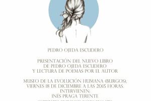 Hoy en el MEH se presenta el poemario Piel de Pedro Ojeda