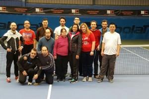 En marcha la Escuela de Tenis de Discapacitados Psíquicos en la Academia Oliveira Tennis Pro