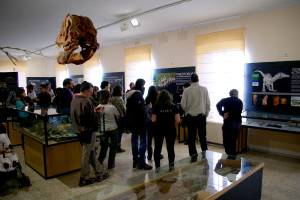 EL Museo de Dinosaurios alcanza la cifra de 12.500 visitantes en 2015
