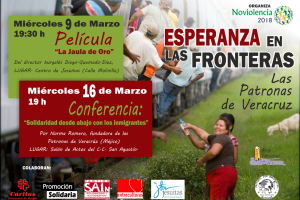 Un grupo de organizaciones de acción social de Burgos ponen en marcha dos actos para la promoción de la no violencia