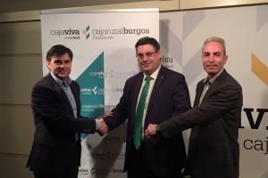 Fundación Caja Rural Burgos renueva el apoyo al CD Burgos Promesas 2000