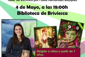 La joven escritora Paula Hernández Gázquez presenta sus obras en la Biblioteca de Briviesca