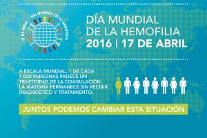 HEMOBUR presenta reivindicaciones y actos para el Día Mundial de la Hemofilia