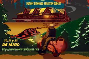 Todo preparado para la séptima edición del Burgos Scooter Festival